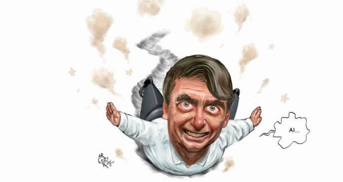 Jair Bolsonaro _ caricatura