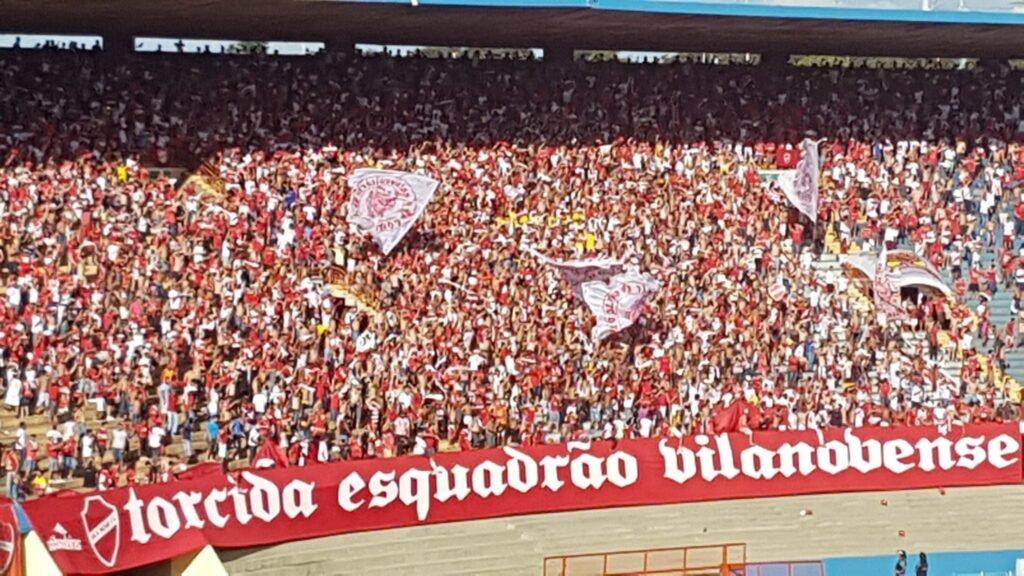 Torcida do Vila Nova Futebol Clube, a maior do Centro-Oeste